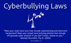 #Cyberbullying #CyberbullyingLaws #iPredator (1000x600px) Image-Free to D/L, Edit for Edu. Purposes. iPredator Inc. New York, USA   #NationalBullyingPreventionMonth Images: https://www.ipredator.co/michael-nuccitelli-cyber-bullying/    #CyberSecurity #InternetSafety (10-16-16) #Bullying #StopCyberbullying