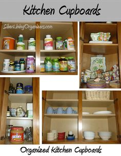 Silver Lining Organizers, LLC Organized Kitchen Cupboards