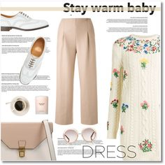 A fashion look from November 2015 featuring Valentino dresses, Chalayan capris and Toast oxfords. Browse and shop related looks.