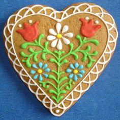mézeskalács szív - Hungarian gingerbread heart