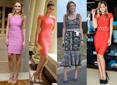 diferentes modelos de vestidos de bandagem dicas