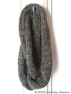 Naturally  Dyed Infinity Scarf £30.00