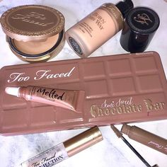 Just love this collection from Too Faced! Foundations concealers lippies oh boy! so many awesome makeup looks and inspiration to create total goals looks! What do you guys think!?