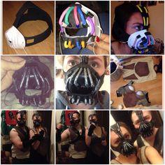 Process of making my Bane costumes! #Bane #Batman