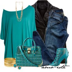 Turquoise, created by amo-iste on Polyvore