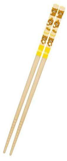 Rilakkuma Chopsticks – Rilakkuma $4.25 http://thingsfromjapan.net/rilakkuma-chopsticks-rilakkuma/ #rilakkuma chopsticks #san x products #kawaii