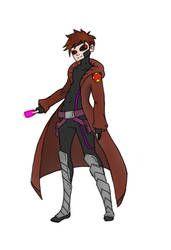 Hoodlie hero: Gambit by FlamingRedZombie Social Community, Worlds Largest, My Arts, Hero, Deviantart, Artist, Anime, Artists, Cartoon Movies