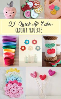 21 Cute and Colorful Crochet Projects                                                                                                                                                                                 More