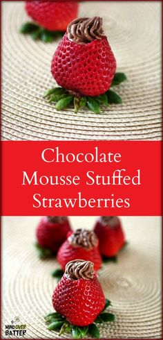 Chocolate Mousse Stuffed Strawberries [mind-over-batter.com}