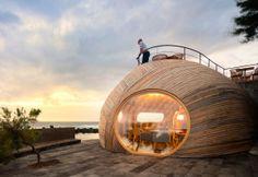 Restaurante Cella en Portugal. Diseño marino