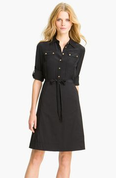 Tory Burch 'Emmanuelle' Shirtdress available at #Nordstrom