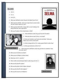 Selma Movie questions for American History Lessons, African American History, Famous Black Americans, Coretta Scott King, High School History, Tim Roth, Drama Film, Martin Luther King