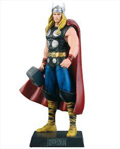 Marvel Figurines - Edição 15 - Thor | Loja Eaglemoss - Coleções