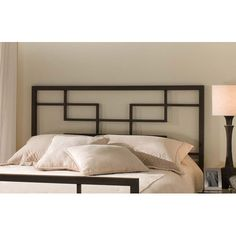 Hillsdale Furniture Terrace Textured Black King Headboard Only