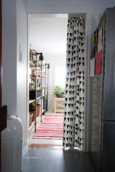 I'd love to turn our 'back room' into a functional area like this!