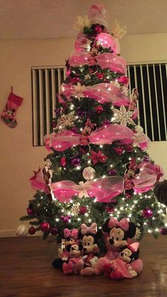 Minnie mouse Christmas Tree | Christmas | Pinterest | Christmas ...