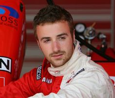 Canadian Indy Car Driver James Hinchcliffe