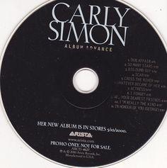 Carly Simon / Bedroom Tapes / 2000 Arista Records / Near Mint Promo CD / Arista ARCD-4627 #CarlySimon #Music