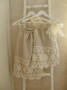 DIY girl dresses..
