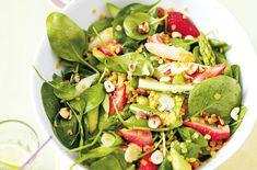Erdbeer-Spinat-Salat - Schrot und Korn - Das Kundenmagazin für den Naturkosthandel