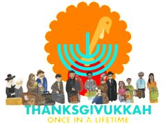 Thanksgivukkah Service 2013. This is terrific. Freedom's Feast: This interactive service takes just a few minutes and is a meaningful way to begin your festive meal by encouraging everyone around the table to think about the miracles of both holidays and the historical events that brought us to this day.