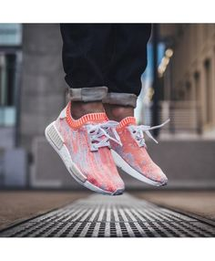 sale retailer d5afb aaec5 Adidas NMD Runner Primeknit White Solar Red Off White Shoes Ba8599
