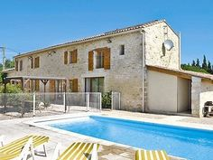 Our holiday villa in Baron in the south of France.2013