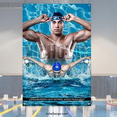 Swimming Senior Pictures, Senior Pictures Boys, Senior Year, Senior Photos, Swimming Photography, Sport Photography, School Photography, Sport Banner, Swim Team Gifts