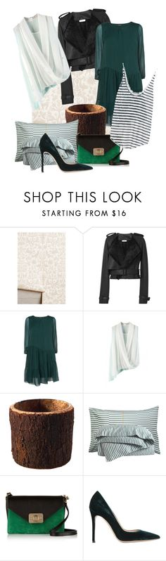 like by dodo85 on Polyvore featuring Phase Eight, Zara, Thierry Mugler, Gianvito Rossi, Mulberry, Elson & Company and Dot & Bo