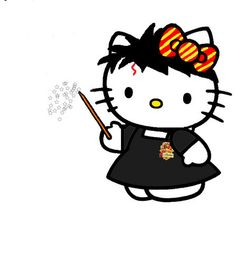 Hello Kitty #Harry Potter