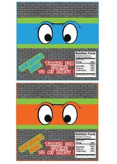 Teenage Mutant Ninja Turtles Candy Bar Wrapper