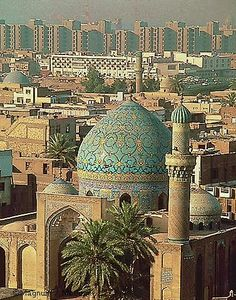 I'd like to go there sometime in the future - Bagdad - must have been a beautiful city!