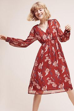 Riverwind Peasant Dress - anthropologie.com