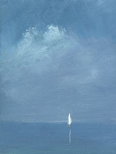 d - Crédit Peinture: © Anne Packard & Vinings Gallery N On the Beach - n.d - Crédit Peinture: © Anne Packard & Vinings Gallery N . Diy Canvas Art, Abstract Canvas, Painting Abstract, Watercolor Painting, Landscape Art, Landscape Paintings, Kitchen Canvas Art, Sailboat Painting, Boat Art
