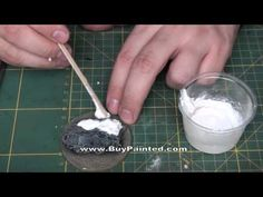 ▶ BuyPainted - How to make snow base for miniature? | Warhammer 40k - YouTube