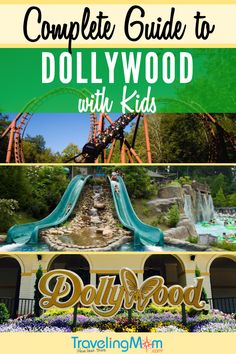 The complete guide to visiting Dollywood theme park with kids! This wonderful amusement park in Pigeon Forge Tennessee is a bright spot that can't be missed! Gatlinburg Vacation, Gatlinburg Tennessee, Tennessee Vacation, Tennessee Hiking, Tennessee Cabins, East Tennessee, Pigeon Forge Tennessee, Mountain Vacations, Family Vacation Destinations