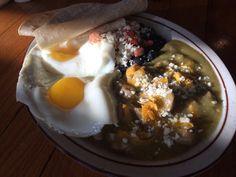 Ladybird Diner - Pork Chile Verde, Eggs, Morning Ray of Light...