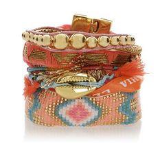 Bracelet brésilien Lovelyness - Hipanema - Nouvelle Collection et ventes privées - Ref: 1246779 | Brandalley