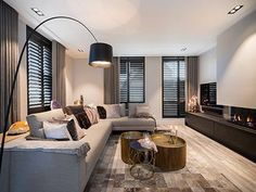 Heated design modern living rooms from heavenly living interior design advice modern wood wood Small Living Room Design, Living Room Modern, Home Living Room, Interior Design Living Room, Living Room Designs, Modern Apartment Design, Art Of Living, Luxury Homes Interior, Luxury Home Decor