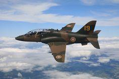 BAe Hawk T1a 4 FTS RAF Valley 19 shadow Sqdn, anniversary colour scheme 2008.
