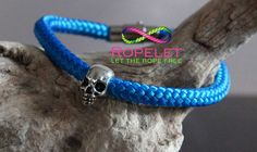 Dont be blue get at fab Ropelet from the Skull Collection at www.ropelet.co.uk. Fantastic handmade rope bracelets made just for you to your order