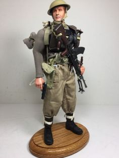 1-6-BBI-BRITISH-8TH-ARMY-BREN-GUNNER-COLT-1911-FULL-GEAR-PACK-WW2-DRAGON-DID-RC