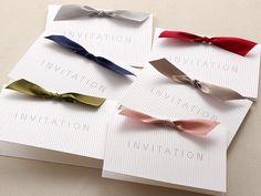 リボン Wedding Cards, Wedding Invitations, Wedding Reception, Design Art, Origami, Wings, Wedding Inspiration, Place Card Holders, Handmade