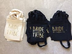 The Classy Hen has been busy this morning making these fantastic gold foiled bags to add to her amazing range of products. View them all at classyhen.co.uk by clicking this link https://classyhen.co.uk/products/bride-tribe-premium-hen-party-bag-gold-foil #classyhenuk #hendo #girlsparty #bridetribe #teambride #bridetobe #henbag