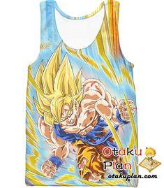 DBZ Deadly Awakening Super Saiyan Goku Hoodie - Dragon Ball Z 3D Hoodies And Clothing