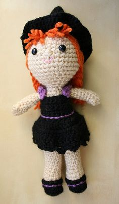 Little Witch by Comfort Creatures, via Flickr