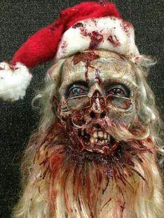 Merry Christmas Zombie Santa :-)