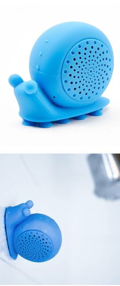 Technology and fun Snail Bluetooth Shower Speaker
