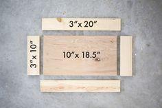 Donnez une touche d'originalité à votre maison avec cette plaque de porte Home Made! #DIY