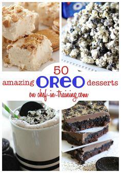 50+ AMAZING Oreo Recipes